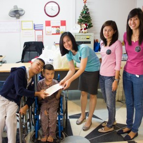 Donated the Proceeds for Foundation for the Welfare of the Crippled
